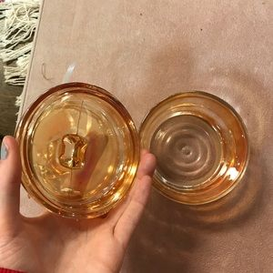 Vintage Other - FREE w/$140 purchase Bambi Deer Glass Jar